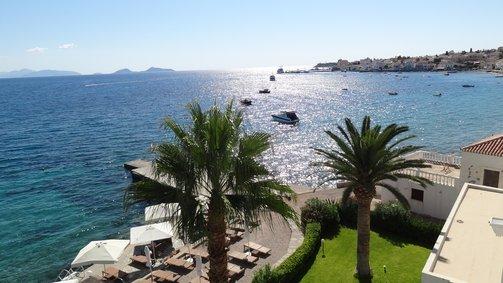 Spetses Hotel beach